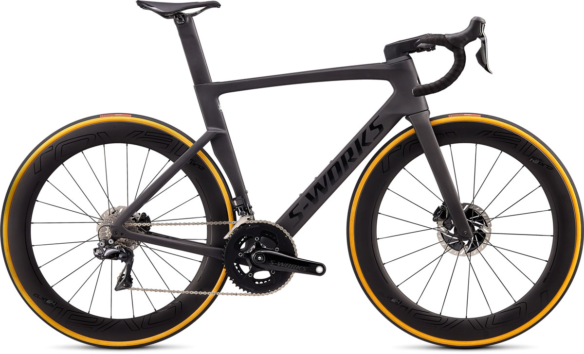 silniční kolo Specialized S-Works Venge Disc Di2 2020 satin carbon/black