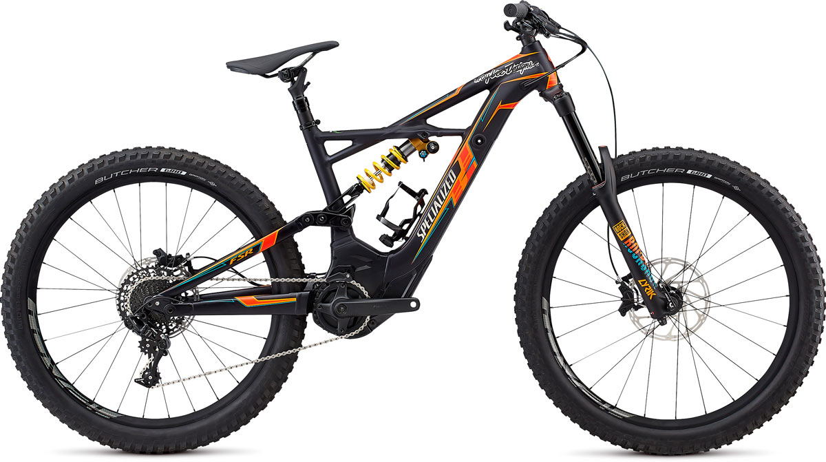 horské elektrokolo Specialized Kenevo FSR Expert TLD 6F 2018 TLD SNC blue/orange/red