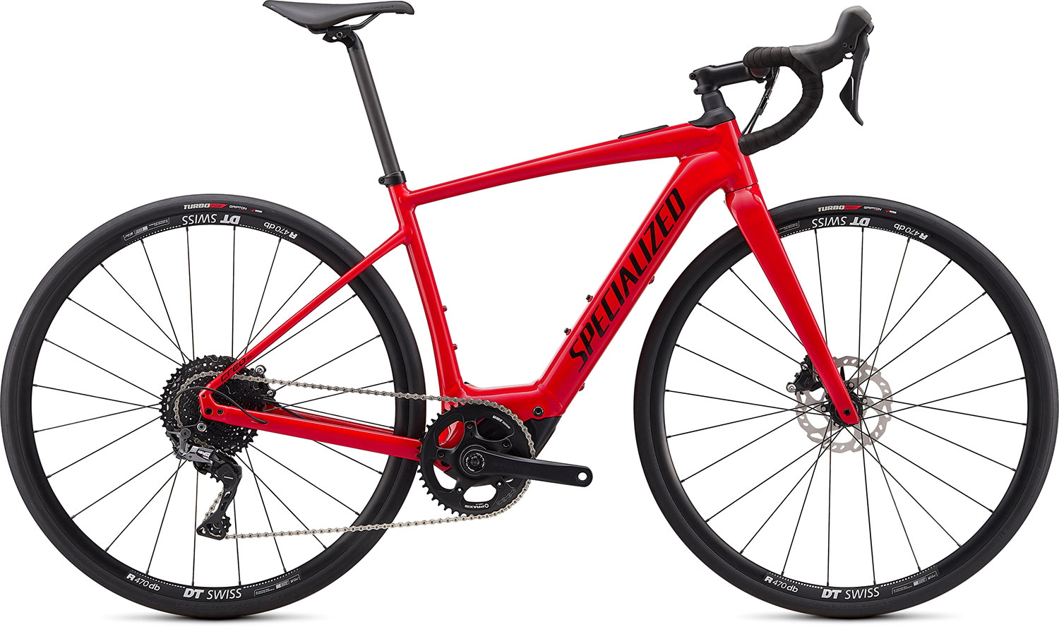 silniční elektrokolo Specialized Creo SL E5 Comp 2021 flo red/white/black