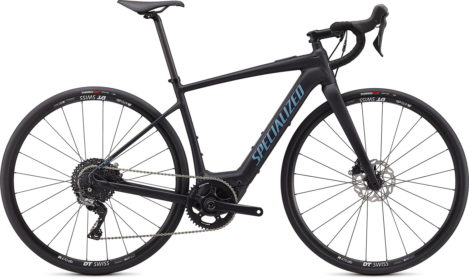 silniční elektrokolo Specialized Creo SL E5 Comp 2021 satin black/gray