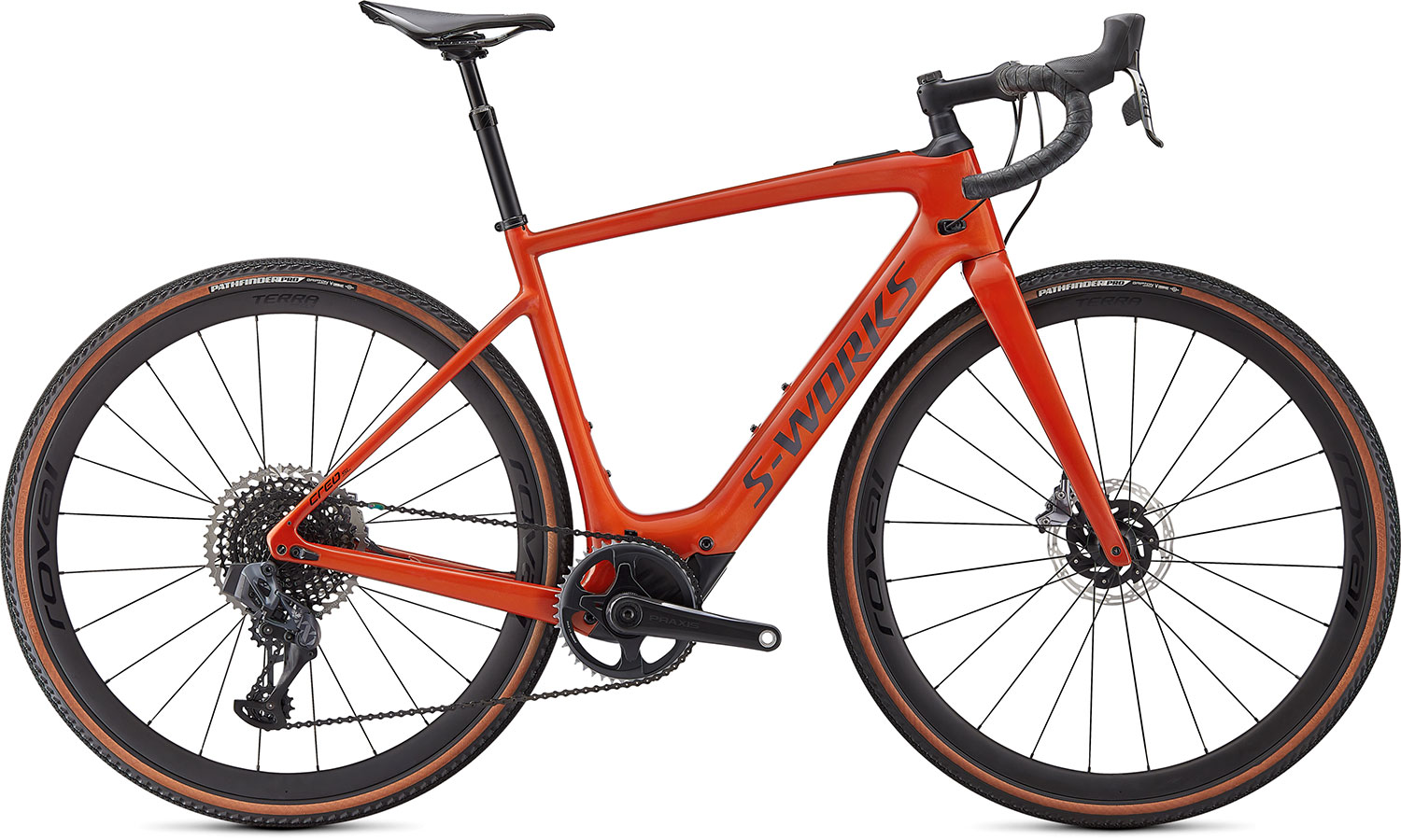 silniční elektrokolo Specialized S-Works Creo SL Carbon Evo 2021 gloss redwood/carbon