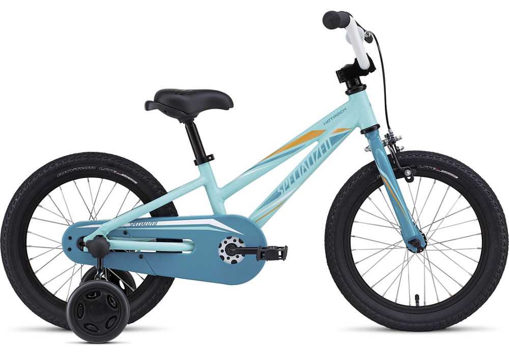 dětské kolo Specialized Hotrock 16 Girl 2017 pearl/turquoise/orange