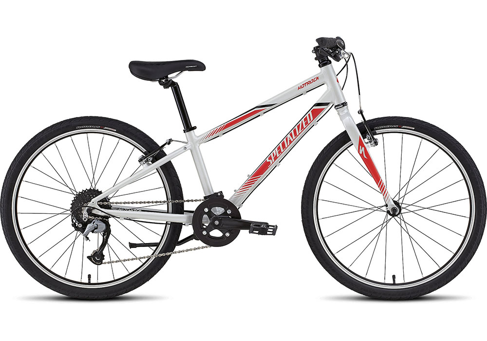 dětské kolo Specialized Hotrock 24 SL Boy 2018 gloss white/red/black