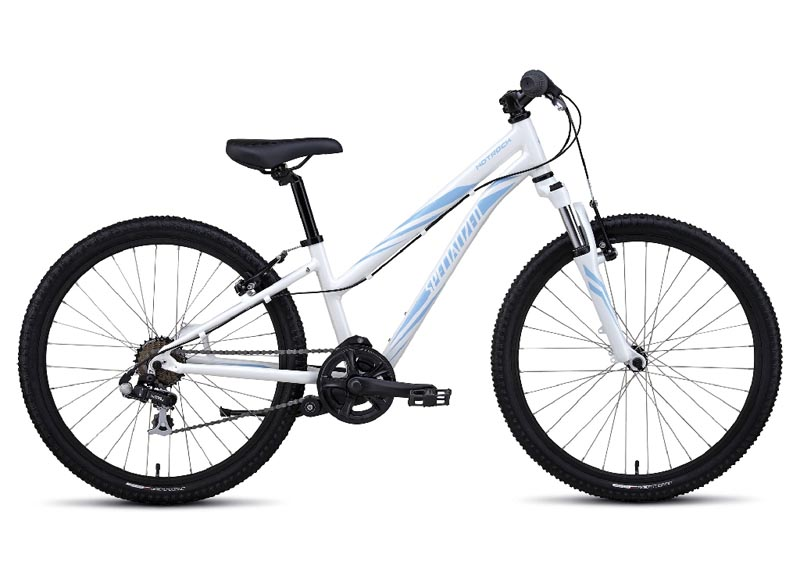 dětské kolo Specialized Hotrock 24 7 speed Girl 2017 white/blue
