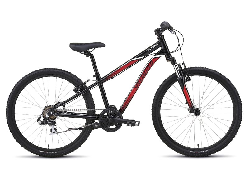 dětské kolo Specialized Hotrock 24 7 speed 2017 black/red/white