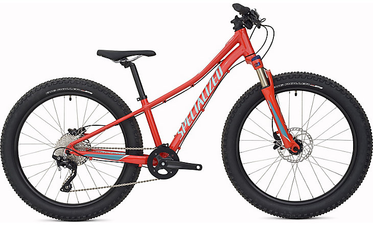 dětské kolo Specialized Riprock Expert 24 2017 nordic red/turquoise/red