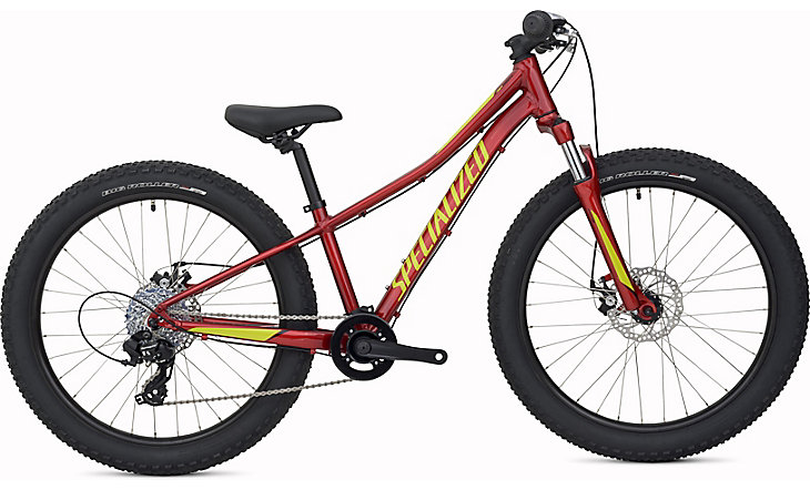dětské kolo Specialized Riprock 24 2018 candy red/hyper/black