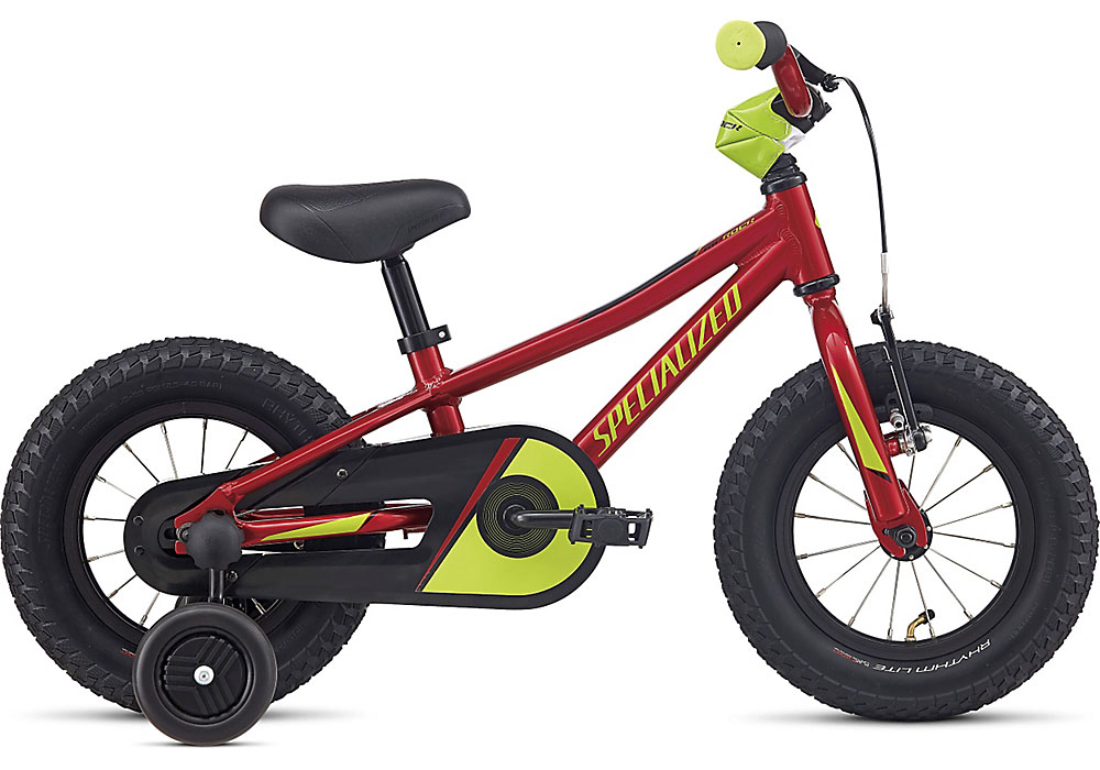 "dětské kolo Specialized Riprock Coaster 12"" 2020 candy red/hyper green"