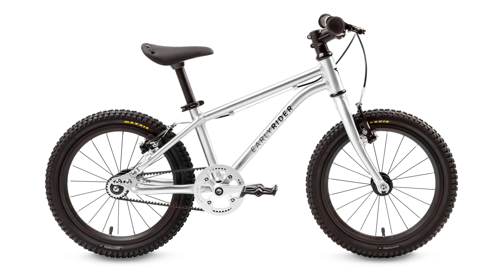 "dětské kolo Early Rider Belter Trail 16 B-T16 Kinderrad 16"" 2019 brushed aluminum"