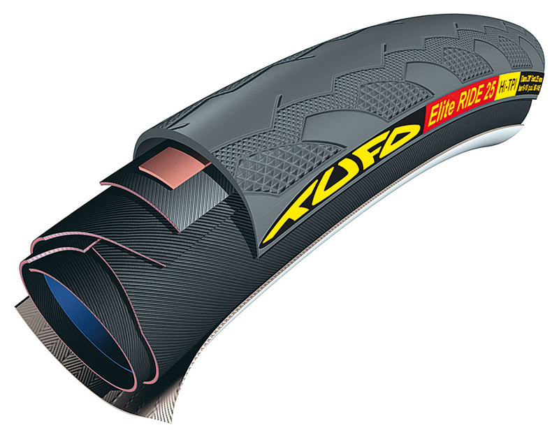 galuska Tufo Elite Ride 700x25 black/black