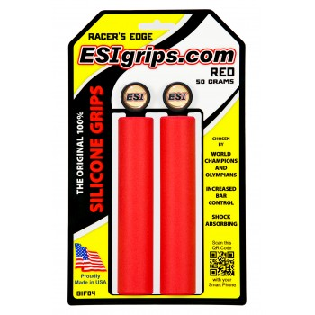 gripy ESI Racers Edge red