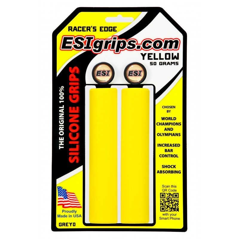 gripy ESI Racers Edge yellow