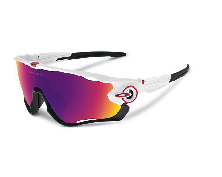 brýle Oakley Jawbreaker polished white/Prizm Road
