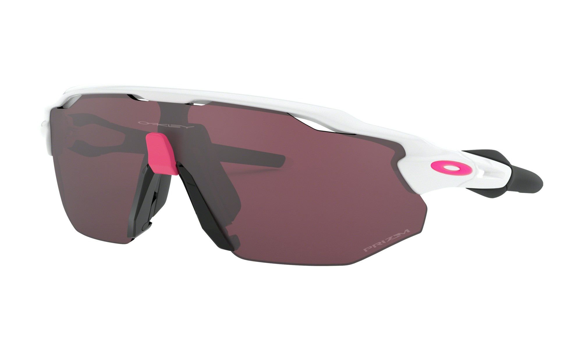 brýle Oakley Radar EV Advancer polished white/pink/Prizm Road Black