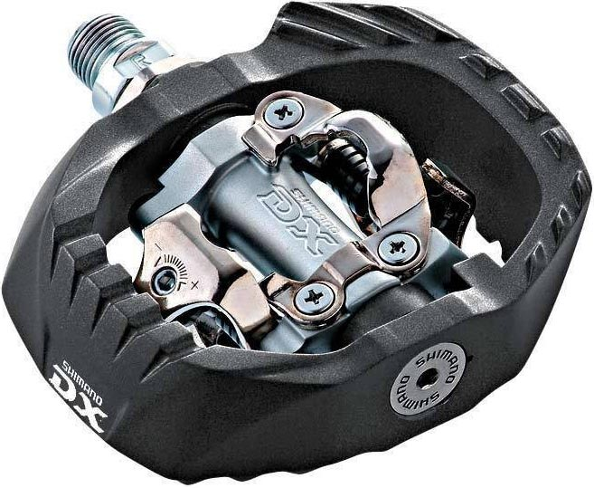 pedály Shimano PD-M647 DX black/silver