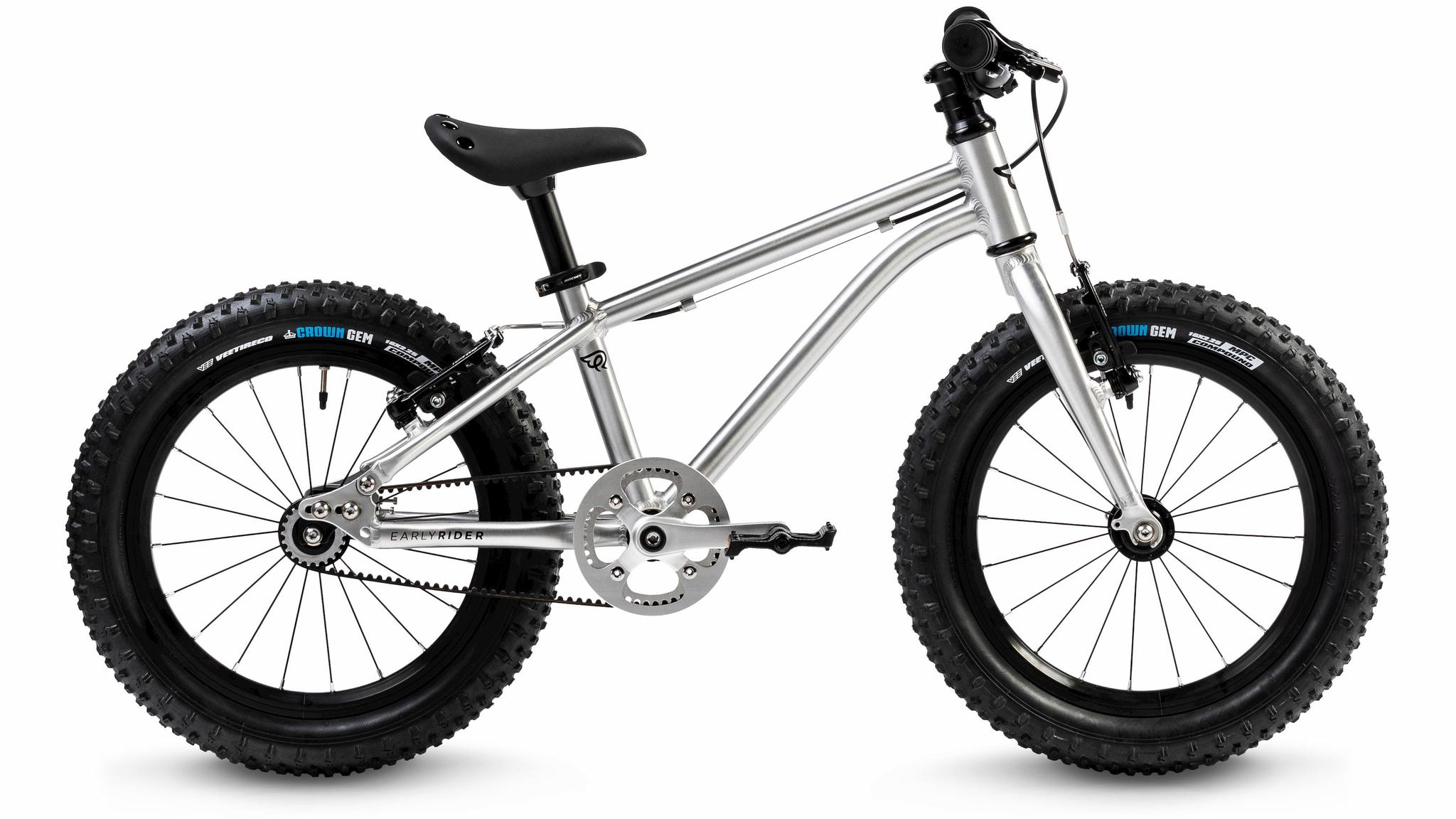 "dětské kolo Early Rider Seeker Adventure 16"" 2020 brushed aluminum"