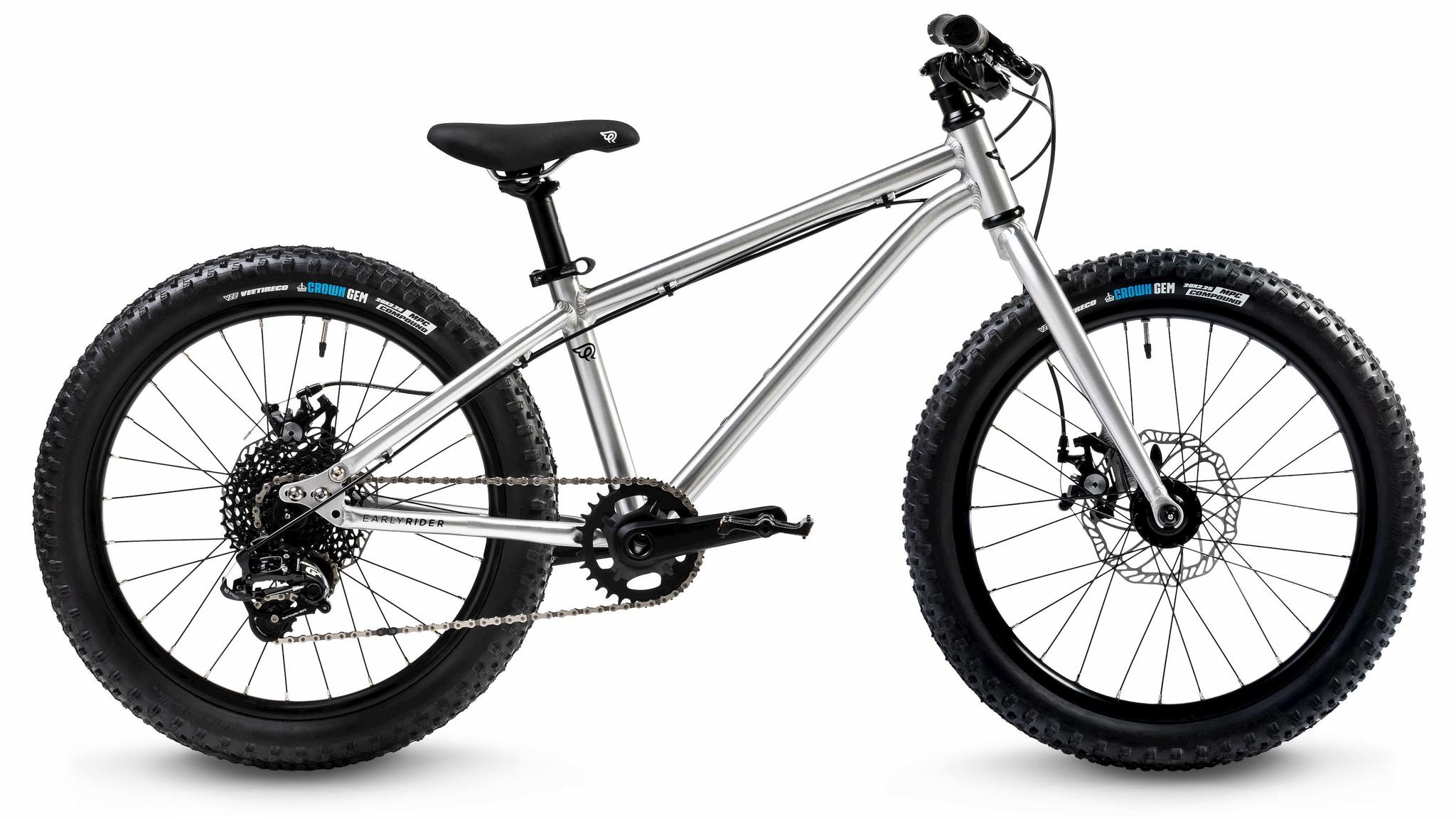 "dětské kolo Early Rider Seeker Adventure 20"" 2020 brushed aluminum"