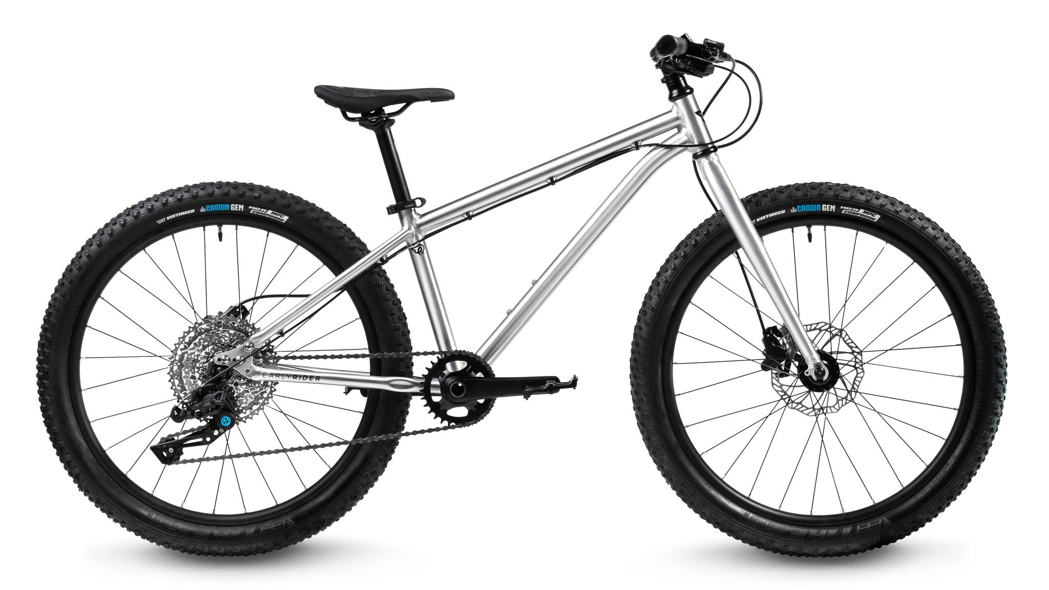 "dětské kolo Early Rider Seeker Adventure 24"" 2021 brushed aluminum"